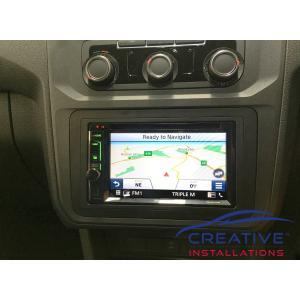 Caddy GPS Navigation