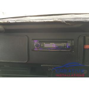 Kombi Van Kenwood Car Stereo