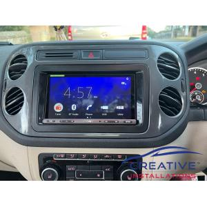 Tiguan Car Radio Upgrade