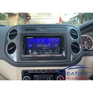 Tiguan Car Stereo Upgrade