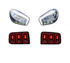 Headlights Tail Lights