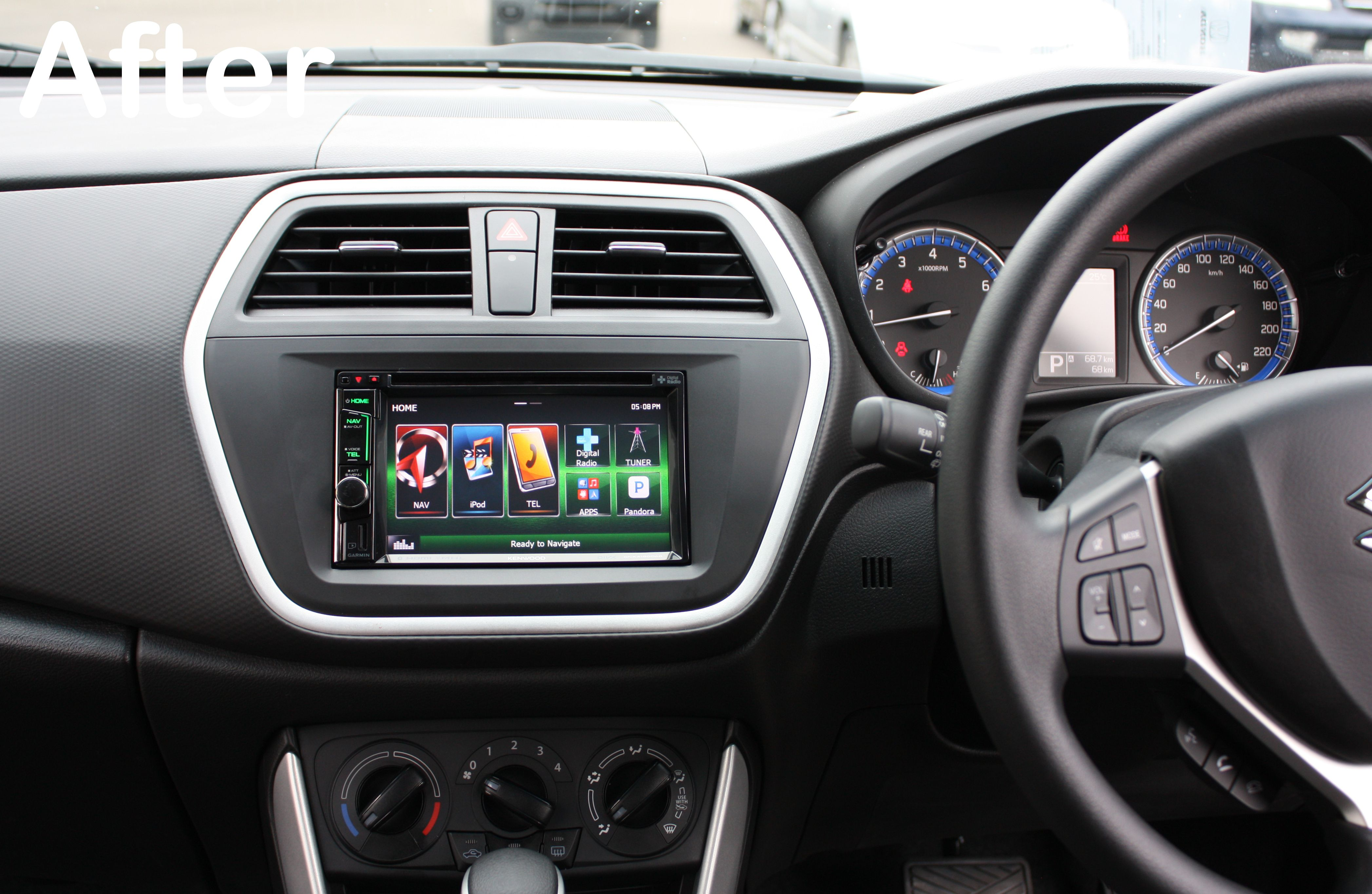 Suzuki S-Cross GPS Navigation System